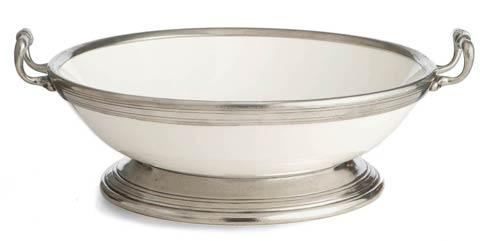 $375.00 Large Footed Bowl with Handles