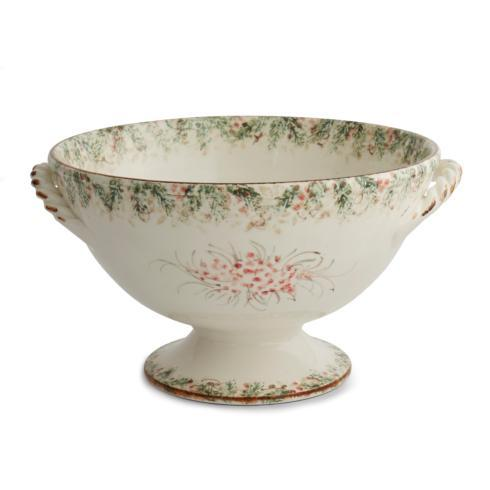 $240.00 Footed Bowl with Handles
