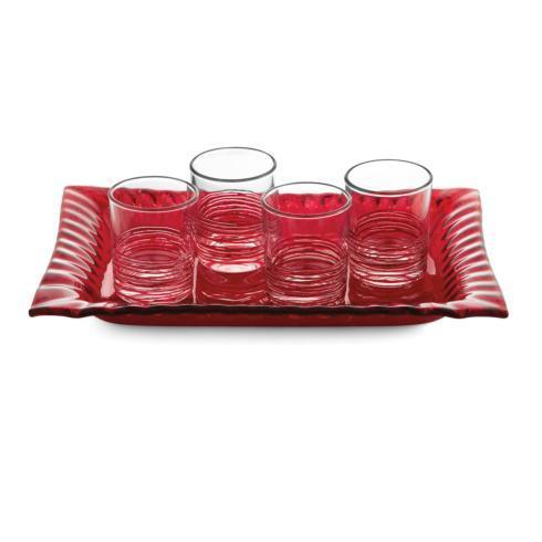 $80.00 Liquor Set and Tray