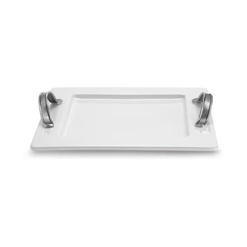 $200.00 Square Tray with Handles
