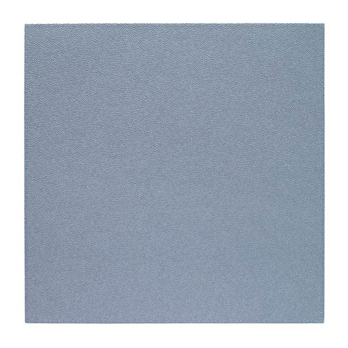 """$162.00 Ice Blue 15"""" Sq Mats - Pack of 6"""
