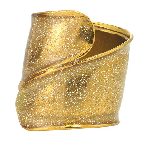 $45.00 Gold Napkin Ring - Pack of 4