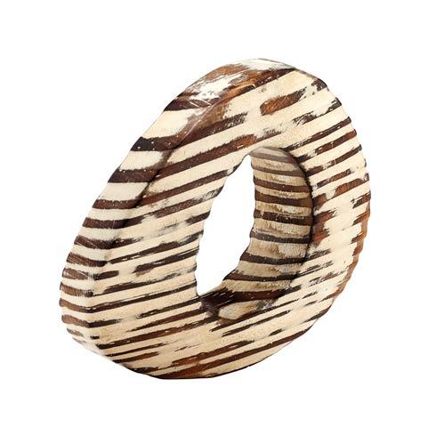 $32.00 Beige Napkin Ring - Pack of 4