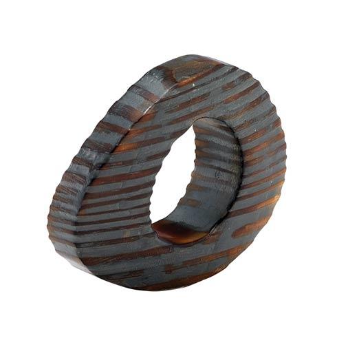 $32.00 Gray Napkin Ring - Pack of 4