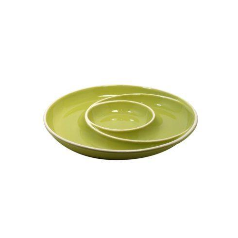 $35.25 Round Chip & Dip, Green