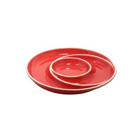 $35.25 Round Chip & Dip, Red