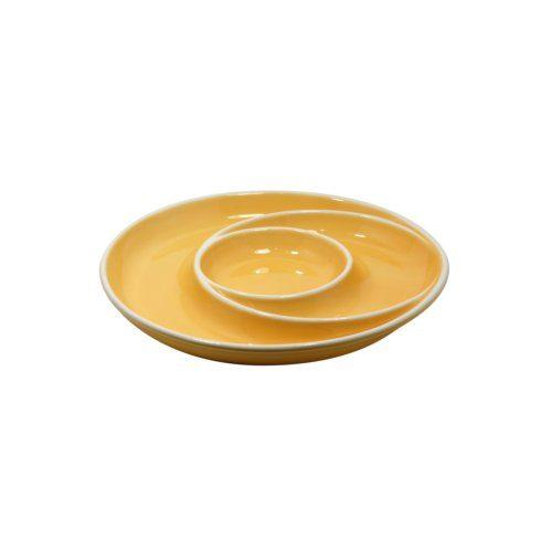 $35.25 Round Chip & Dip, Yellow
