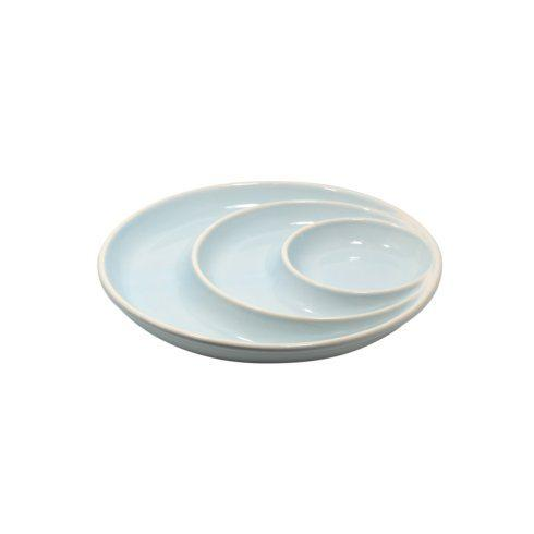$35.25 Round Chip & Dip, Robin\'s Egg Blue