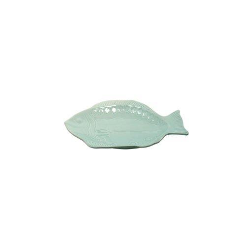 $22.00 Small Fish Platter, Aqua
