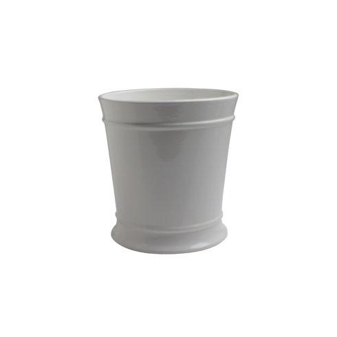 $60.50 Waste Basket, White