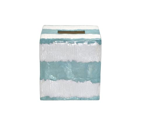 $50.75 Boutique Tissue Box, Waves