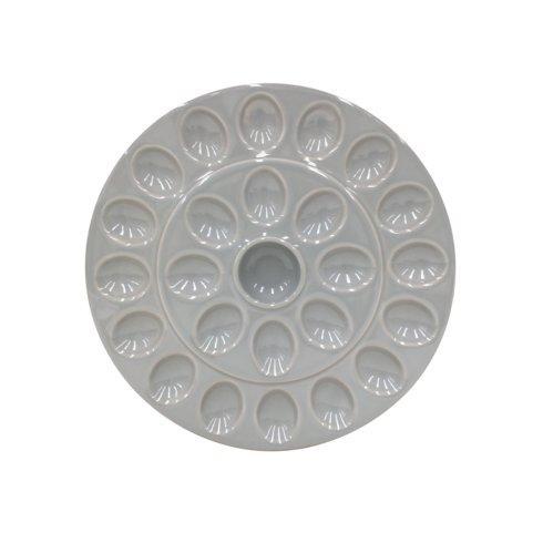 $46.00 Egg Platter, Gray