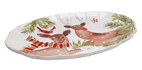 $99.00 Lg. Oval Platter White