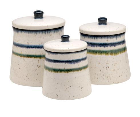 $176.00 Canisters Set/3, White
