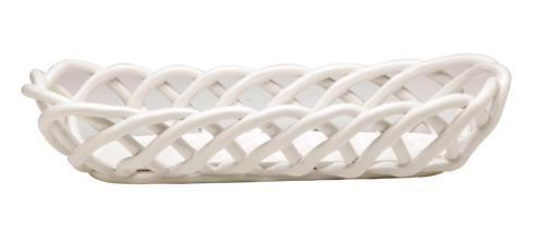 $59.00 Baguette Basket, White