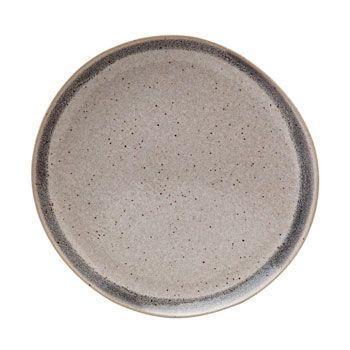$26.50 Dinner Plate, Grey Band
