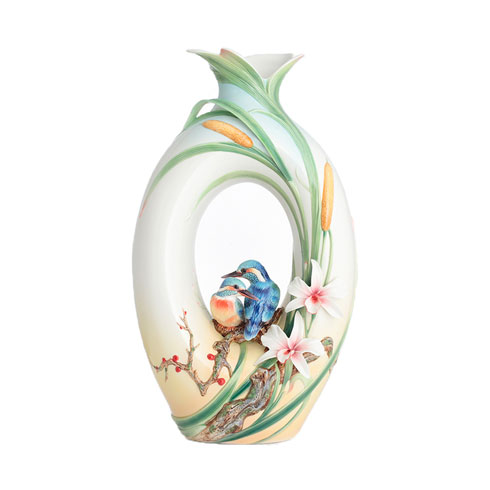 $1,638.00 Vase, Kingfisher (LE)