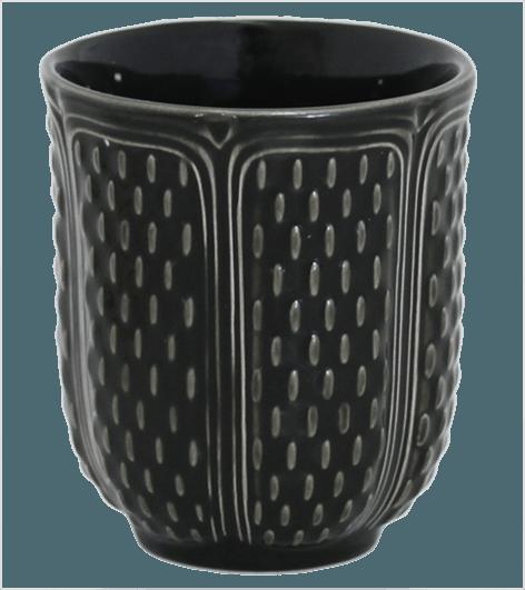 $38.00 Tea Cup Midnight