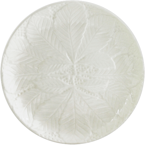 $48.00 Canape Plates White, Set of 2