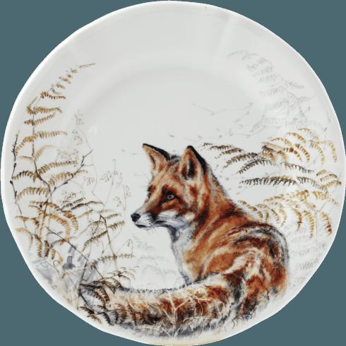$45.00 Dessert Plate - Fox