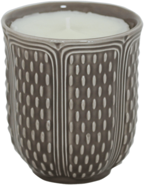 $57.00 Scented Candle Taupe