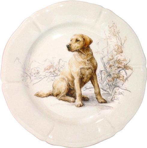 $45.00 Dessert Plate, Labrador