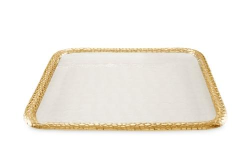 "$285.00 15"" Square Tray Snow"