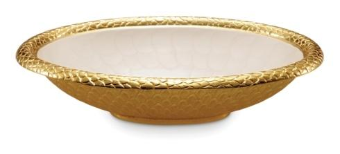"$239.00 15"" Oval Bowl Snow"
