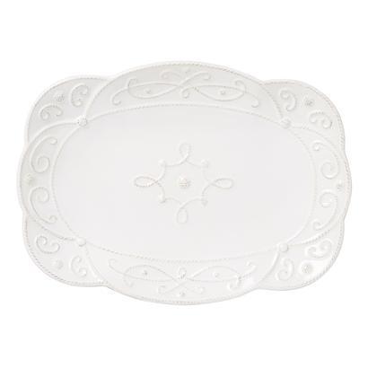 "$125.00 Platter ~ 15"" (Whitewash)"