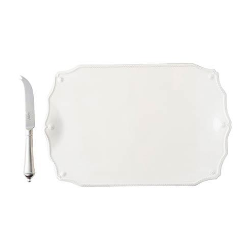 """$125.00 15"""" Serving Board w/Knife"""