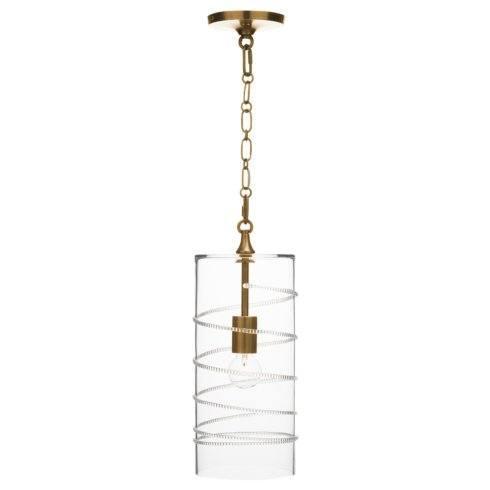 $650.00 Amalia Column Pendant in Brass
