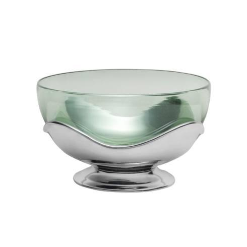 $139.99 Glass Bowl with Base