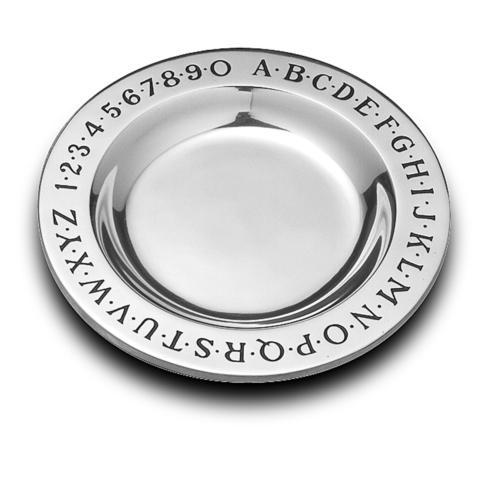 $29.99 Alphabet Plate