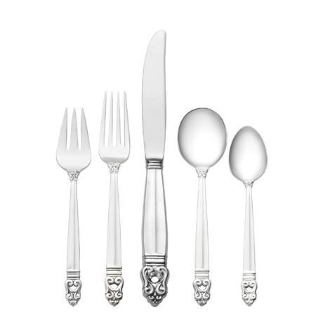 $12,300.00 66 Piece Set, Place Size with Cream Soup Spoon. Service for 12