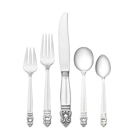 $12,900.00 66 Piece Set, Dinner Size with Cream Soup Spoon. Service for 12