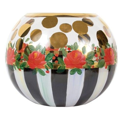 $52.00 Heirloom Glass Globe Vase - Large