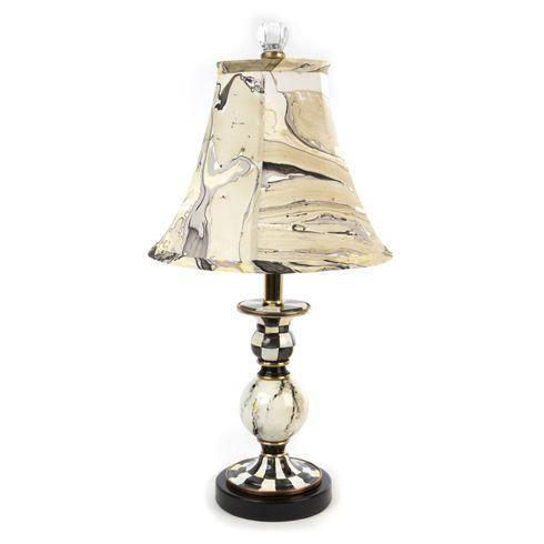 $225.00 Courtly Palazzo Candlestick Lamp