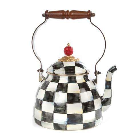 $110.00 Enamel Tea Kettle - 2 Quart