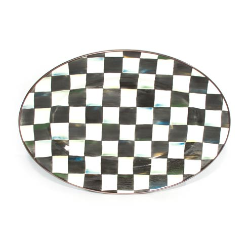 $105.00 Enamel Oval Platter - Small