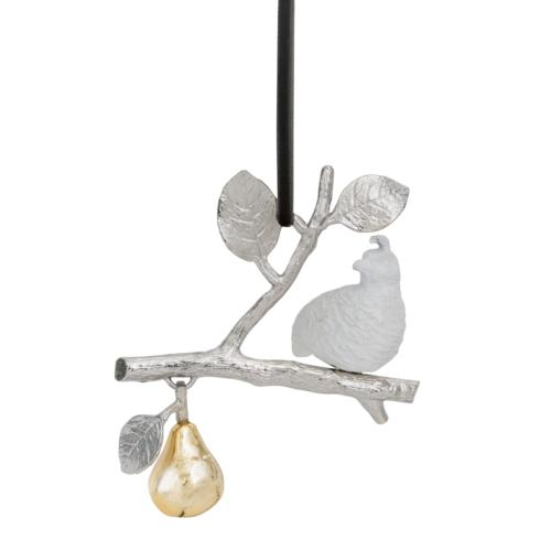 $49.00 Partridge In A Pear Tree Ornament