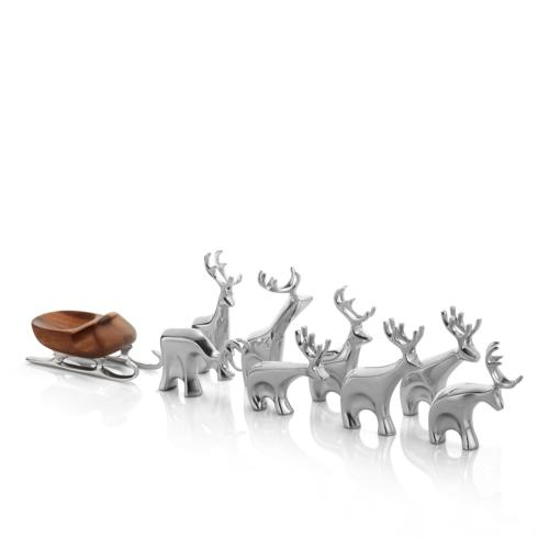 $200.00 Mini Reindeer 9 pc set