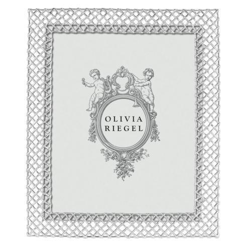 """$370.00 Silver Tristan 8"""" x 10"""" Frame"""