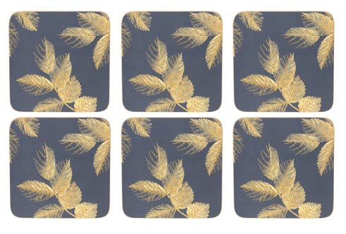 $15.00 Coasters - Set of 6 Navy