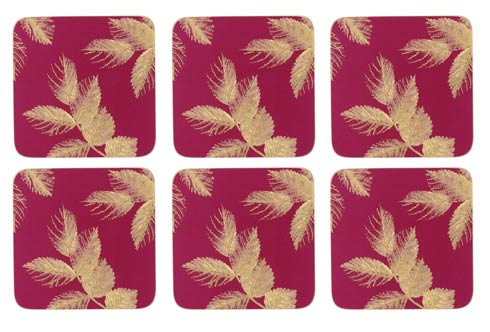 $15.00 Coasters - Set of 6 Pink