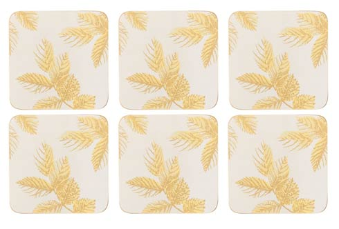 $15.00 Coasters - Set of 6 Light Grey