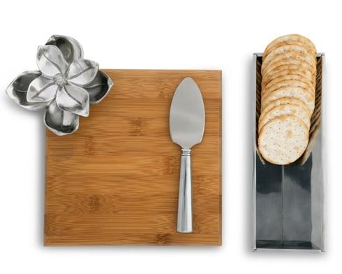 $75.00 Cheese Set  Bamboo Board