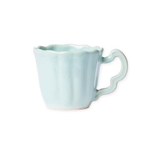 $46.00 Aqua Scallop Mug
