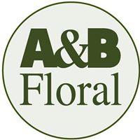 A & B Floral brand logo