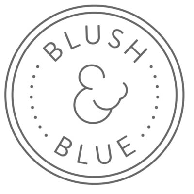 Blush & Blue brand logo