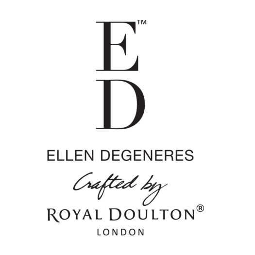 ED Ellen DeGeneres Crafted by Royal Doulton brand logo